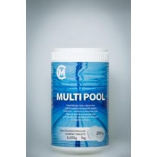 MULTIPOOL TABLETE 1kg/200gr