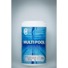 MULTIPOOL TABLETE 1kg/20gr